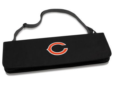 Chicago Bears Picnic Time NFL Metro BBQ Tote & 3-Piece Tool Set