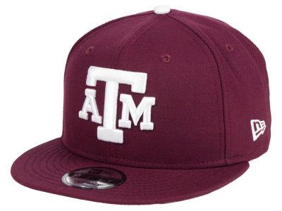ad1711ea31a Texas A M Aggies New Era NCAA Core 9FIFTY Snapback Cap