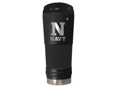 "Navy Midshipmen Great American 24oz ""The Draft"" Stainless Steel Tumbler"