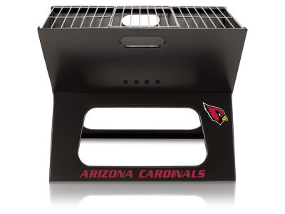 Arizona Cardinals Picnic Time X-Grill Portable Charcoal BBQ Grill