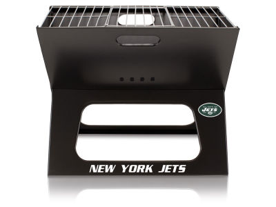 New York Jets Picnic Time X-Grill Portable Charcoal BBQ Grill