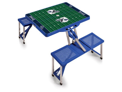 Tennessee Titans Picnic Time Picnic Table Portable Folding Table with Seats