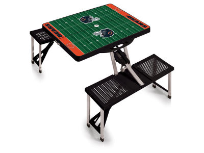 Chicago Bears Picnic Time Picnic Table Portable Folding Table with Seats