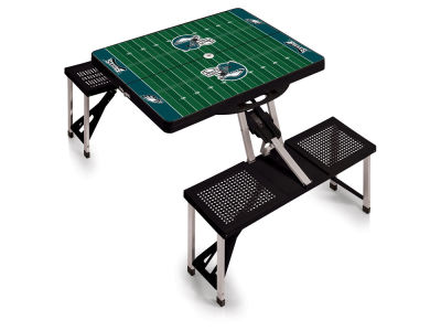 Philadelphia Eagles Picnic Time Picnic Table Portable Folding Table with Seats