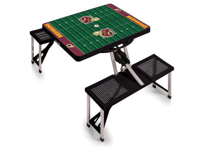 Washington Redskins Picnic Time Picnic Table Portable Folding Table with Seats