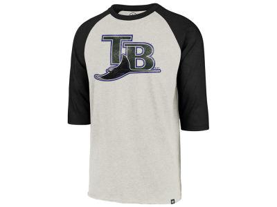 fd820c436 Tampa Bay Rays  47 MLB Men s Coop Throwback Club Raglan T-Shirt