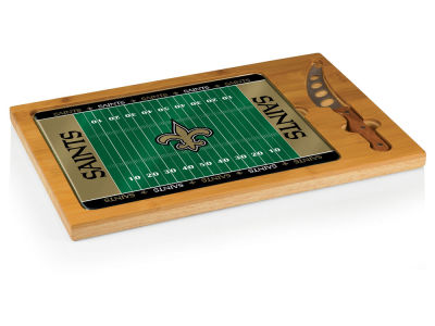New Orleans Saints Picnic Time Touchdown! Pro Football Cutting Board & Serving Tray
