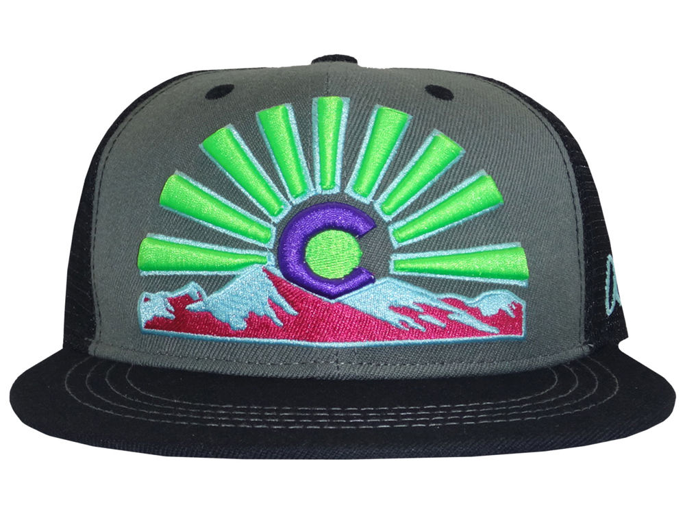 f6de6f942f5 ... coupon for aksels colorado sunset flat bill snapback cap lids 72829  b1193