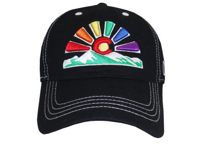 Aksels Colorado Sunset Curved Bill Cap