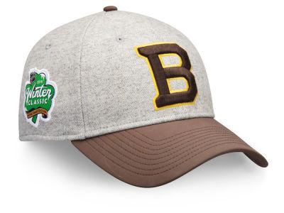 8d5574bd664 Boston Bruins NHL 2019 NHL Winter Classic Structured Adjustable Cap