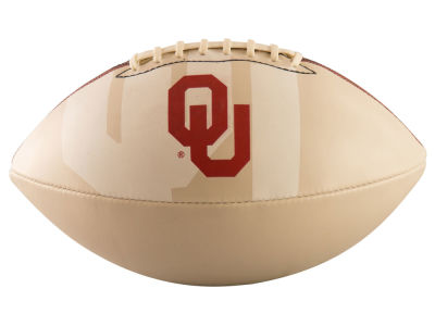 Oklahoma Sooners Logo Brands Official-Size Autograph Football V