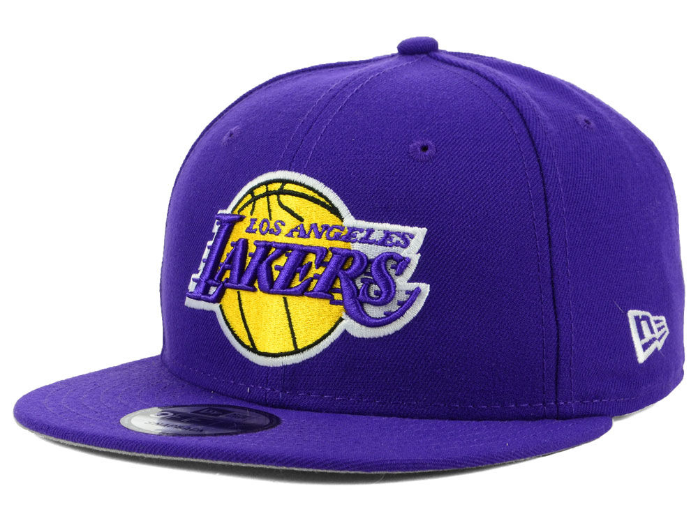 Los Angeles Lakers New Era 2018 NBA Basic 9FIFTY Snapback Cap  1feb70ededb