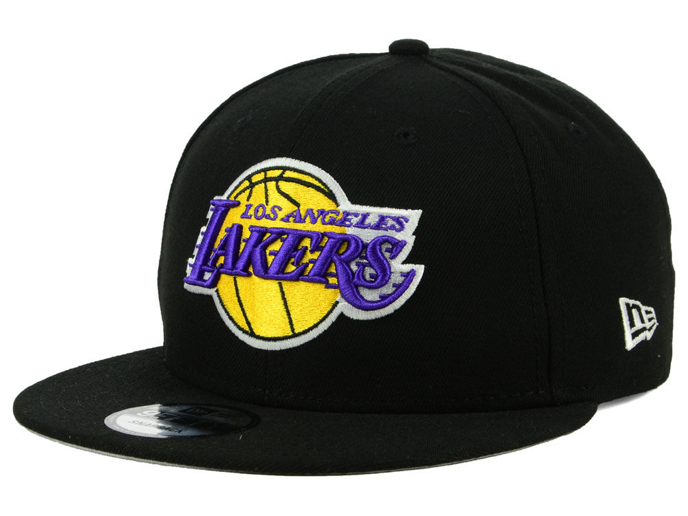Los Angeles Lakers New Era 2018 NBA Basic 9FIFTY Snapback Cap  90d4012924c9