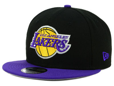 Los Angeles Lakers New Era NBA Basic 2 Tone 9FIFTY Snapback Cap