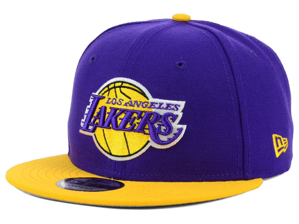 Los Angeles Lakers New Era NBA Basic 2 Tone 9FIFTY Snapback Cap ... c2fd56cadac9