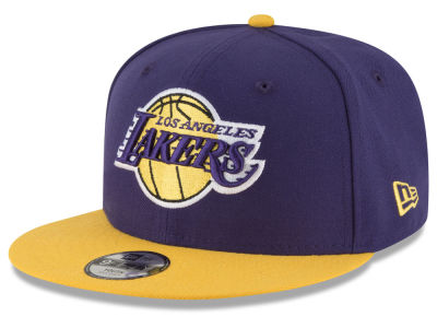 Los Angeles Lakers New Era NBA Kids Basic 9FIFTY Snapback Cap f4d5bec3c