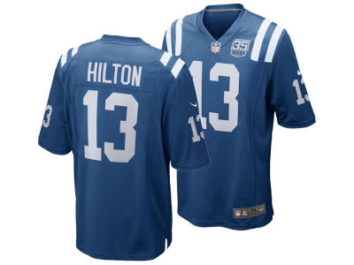Indianapolis Colts T.Y. Hilton Nike NFL Men's 35th Season Replica Jersey