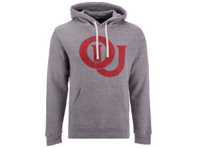 Oklahoma Sooners Retro Brand NCAA Men's Vault Hooded Sweatshirt