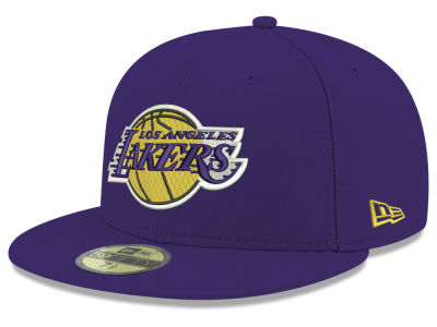 Los Angeles Lakers New Era 2018 NBA Basic 59FIFTY Cap