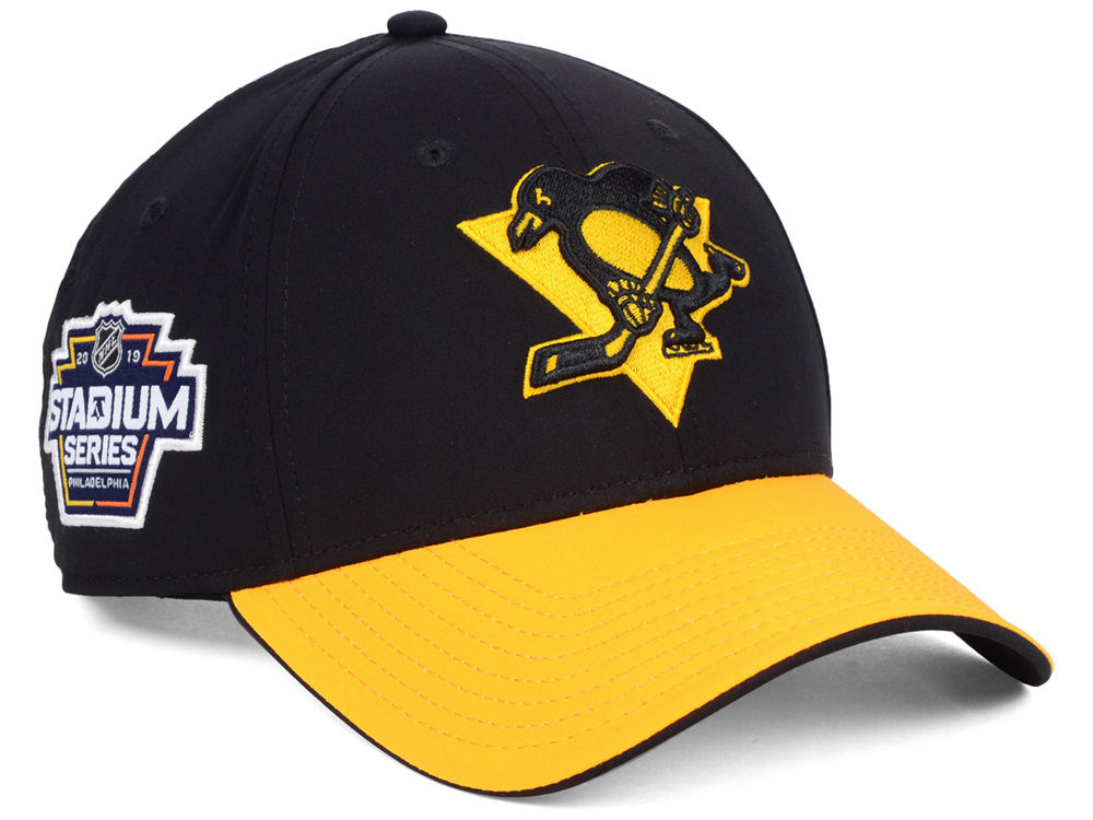 Pittsburgh Penguins NHL Branded 2019 Stadium Series Structured Adjustable  Cap  54ffc747961
