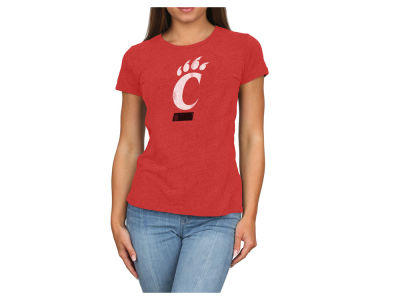 Cincinnati Bearcats Retro Brand NCAA Women's Vintage Heather T-Shirt