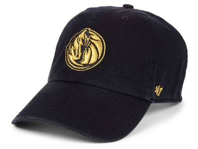 Dallas Mavericks '47 NBA Met Gold CLEAN UP Cap