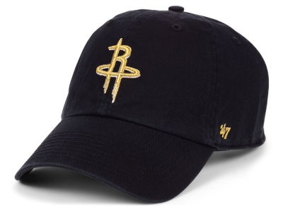 Houston Rockets '47 NBA Met Gold CLEAN UP Cap