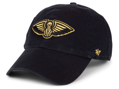 New Orleans Pelicans '47 NBA Met Gold CLEAN UP Cap