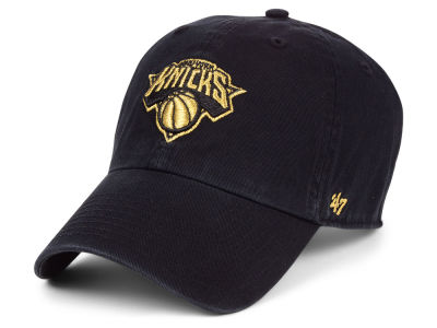 New York Knicks '47 NBA Met Gold CLEAN UP Cap