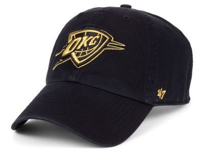 Oklahoma City Thunder '47 NBA Met Gold CLEAN UP Cap