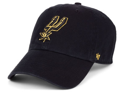 San Antonio Spurs '47 NBA Met Gold CLEAN UP Cap