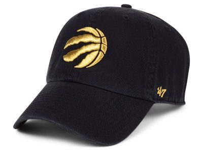 Toronto Raptors '47 NBA Met Gold CLEAN UP Cap