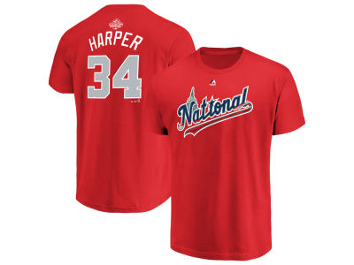 Washington Nationals Bryce Harper 2018 MLB Men's All Star Game Player T-Shirt