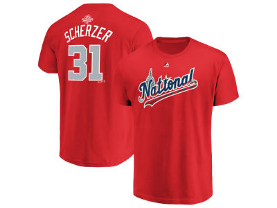 Washington Nationals Max Scherzer 2018 MLB Men's All Star Game Player T-Shirt