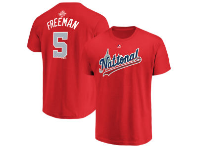 Atlanta Braves Freddie Freeman 2018 MLB Men's All Star Game Player T-Shirt