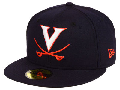Virginia Cavaliers New Era NCAA AC 59FIFTY Cap