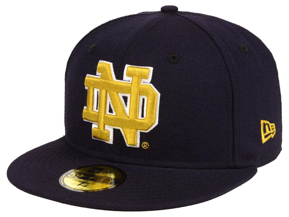 7c6432b1ac2 Notre Dame Fighting Irish New Era NCAA AC 59FIFTY Cap
