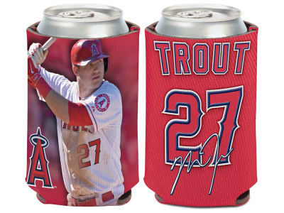 Los Angeles Angels Mike Trout Wincraft Can Coozie
