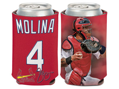 St. Louis Cardinals Yadier Molina Wincraft Can Coozie