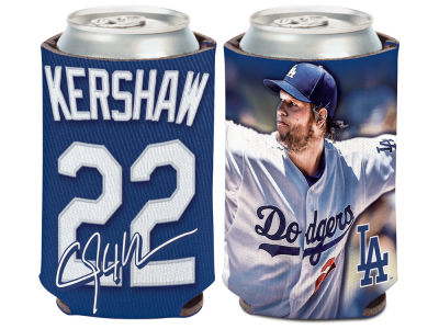 Los Angeles Dodgers Clayton Kershaw Wincraft Can Coozie