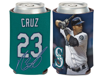 Seattle Mariners Nelson Cruz Wincraft Can Coozie