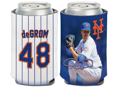 New York Mets Jacob deGrom Wincraft Can Coozie