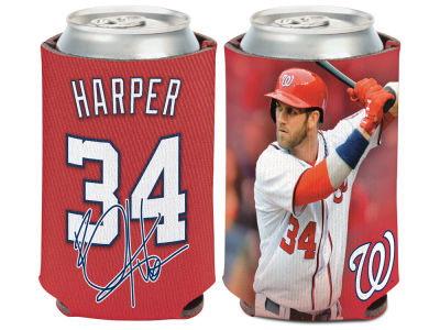 Washington Nationals Bryce Harper Wincraft Can Coozie