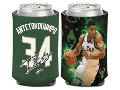 Milwaukee Bucks Giannis Antetokounmpo Wincraft Can Coozie