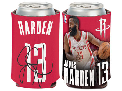 Houston Rockets James Harden Wincraft Can Coozie