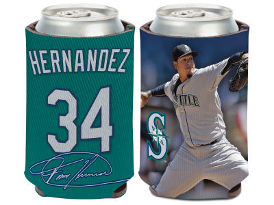 Seattle Mariners Felix Hernandez Wincraft Can Coozie