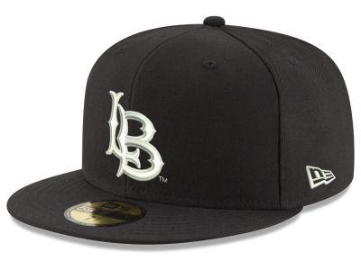 ed3f932690f Long Beach State 49ers New Era NCAA Core Black White 59FIFTY Cap
