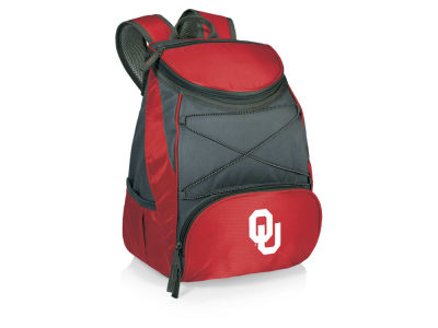Oklahoma Sooners Picnic Time PTX Backpack Cooler