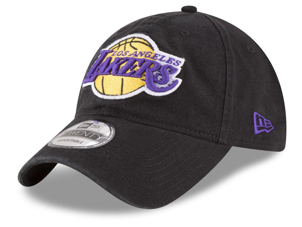 83d20f754b9 Los Angeles Lakers New Era NBA Core Classic 9TWENTY Cap