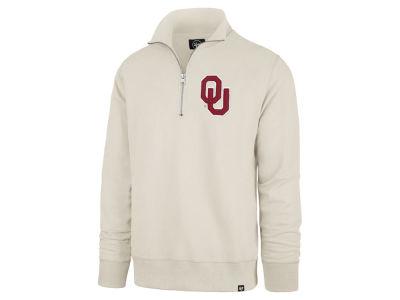 Oklahoma Sooners  47 NCAA Men s Stateside Quarter Zip Pullover a3eb758b7d83